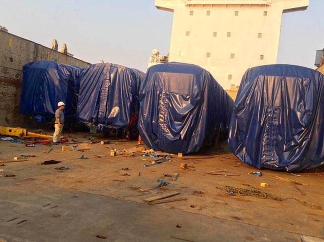 4 toa tàu Cát Linh - Hà Đông nhập từ Trung Quốc đã về Hà Nội