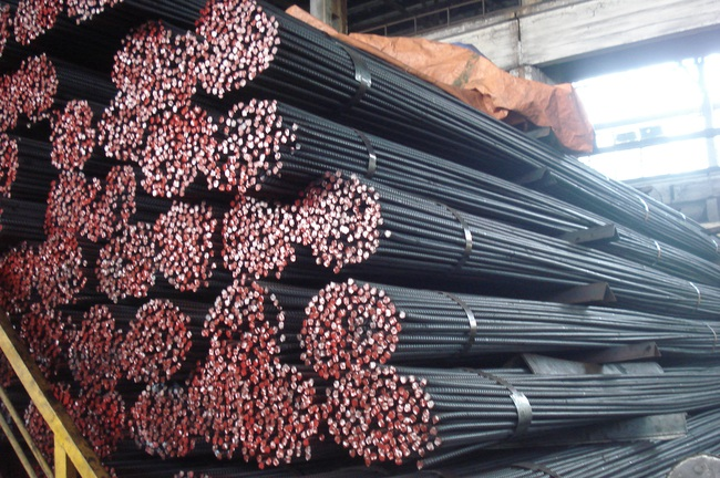 Giá sắt thép tại thị trường Hà Nội tháng 5/2017
