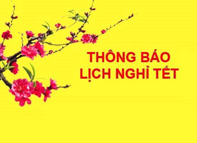 TPHCM thông báo nghỉ Tết Dương lịch 2018