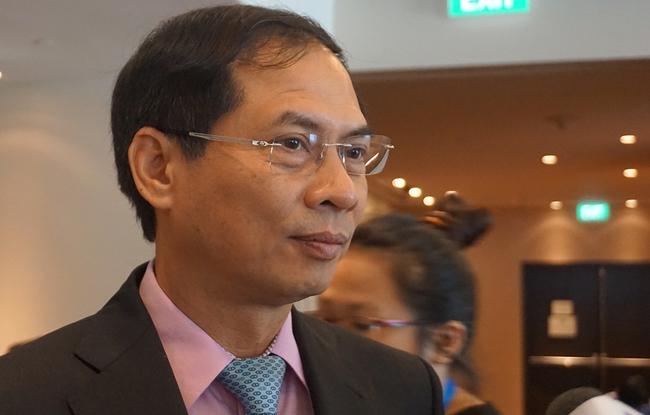 Thứ trưởng Ngoại giao Bùi Thanh Sơn: Việt Nam đóng góp nhiều sáng kiến, văn kiện tại SOM 3