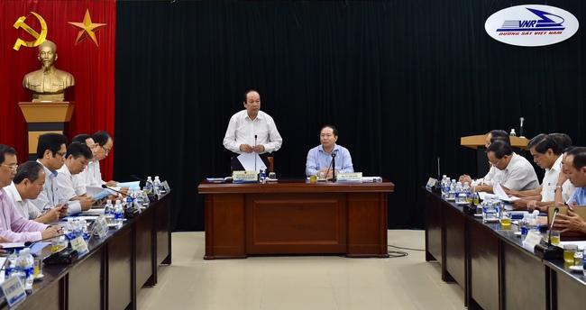 Thủ tướng nhắc nhở Tổng công ty Đường sắt 6 vấn đề