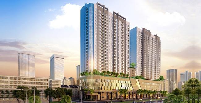 Khu vực Trung Hòa Nhân Chính có thêm một tổ hợp chung cư