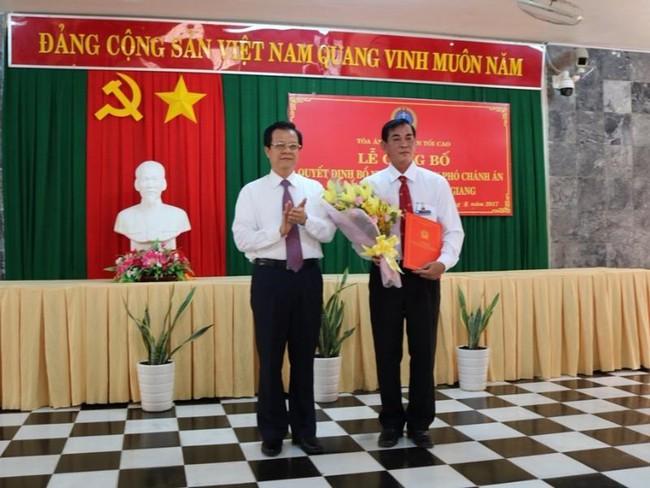 An Giang bổ nhiệm nhân sự mới TANDTC