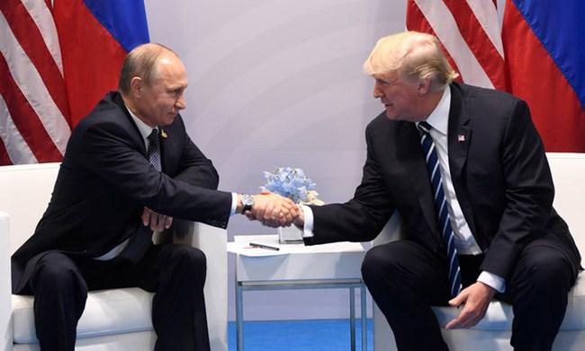 Ảnh: Buổi hội đàm hơn 2 tiếng đồng hồ của Tổng thống Nga - Mỹ