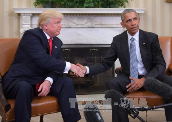 Ông Trump sẽ hủy bỏ một số quyết sách của chính quyền Tổng thống Obama