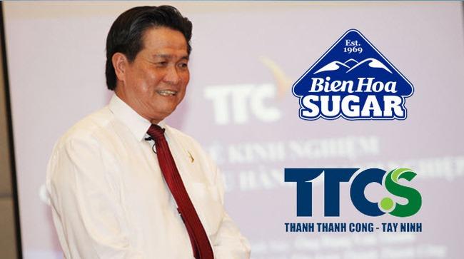 Hai công ty mía đường của ông Đặng Văn Thành sẽ sáp nhập thành 1 công ty có quy mô gần nửa tỷ đô
