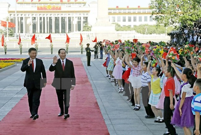 Chủ tịch nước kết thúc tốt đẹp chuyến thăm CHND Trung Hoa
