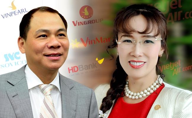 2 tỷ phú đô la của Việt Nam kinh doanh ra sao trong năm 2016?