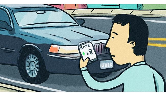 """Uber lại nghĩ ra cách """"móc túi"""" mới: Tăng giá trên những """"cung đường vàng"""", chỉ hãng mới biết, khách hàng và tài xế thì chịu!"""