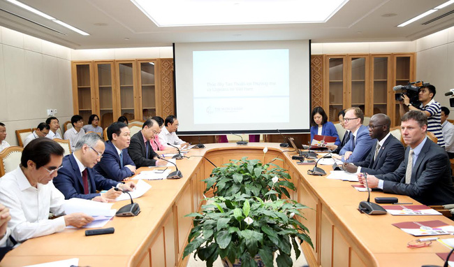 WB: Sẽ có một khoản tài trợ Việt Nam về các vấn đề liên quan đến logistics và một cửa quốc gia