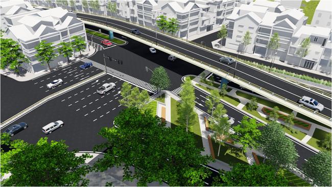 Hà Nội chính thức cho phép thi công cầu vượt tại nút giao An Dương - đường Thanh Niên