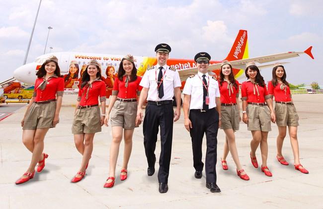 Vietjet Air ước đạt 2.300 tỷ đồng lợi nhuận trước thuế trong năm 2016, tăng gần 92%