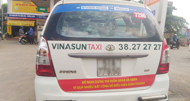 """CEO Vinalink: Vinasun treo khẩu hiệu thì được, nhưng nên thay dòng chữ thành """"Cảm ơn Uber, Grab đã giúp chúng tôi phải thay đổi"""""""