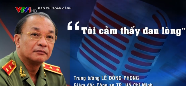 Phát ngôn ấn tượng: Giám đốc Công an TP.HCM cảm thấy đau lòng