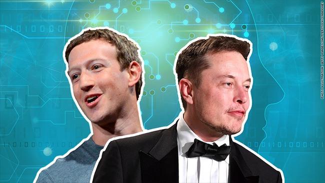"""Cuộc chiến giữa các tỷ phú: Elon Musk chê Mark Zuckerberg hiểu biết """"hạn chế"""" về AI"""