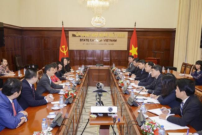 Tỷ phú Jack Ma đã nói gì khi gặp Thống đốc NHNN Lê Minh Hưng?