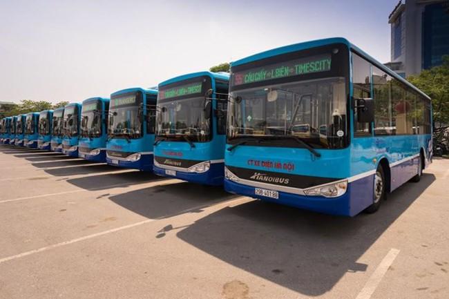 Hà Nội tiếp tục thay hàng loạt xe buýt hiện đại, wifi miễn phí