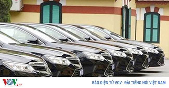 Sẽ cấm cơ quan nhà nước dùng xe sang được biếu tặng vượt chuẩn