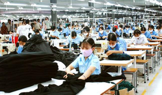 Năm 2017 ngành dệt may xuất siêu đạt kỷ lục