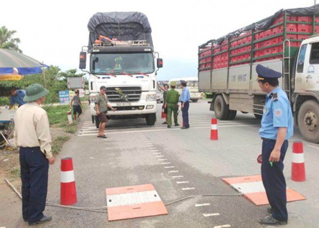Tổng Cục đường bộ: Xử lý mạnh tay với xe vi phạm tải trọng