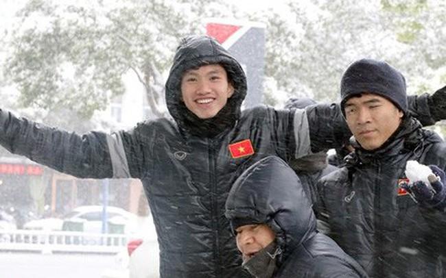 Trận chung kết U23 châu Á có nguy cơ bị hoãn vì tuyết rơi dày đặc
