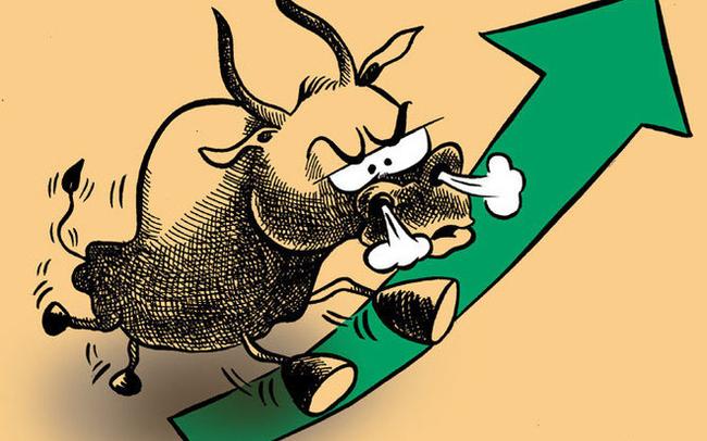 Dòng tiền đổ mạnh vào cổ phiếu chứng khoán, ngân hàng, VnIndex mất gần 6 điểm trong phiên đầu tuần bởi Bluechips