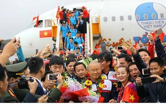 Đề nghị Cục Hàng không xử lý vi phạm trên chuyên cơ đón U23 Việt Nam