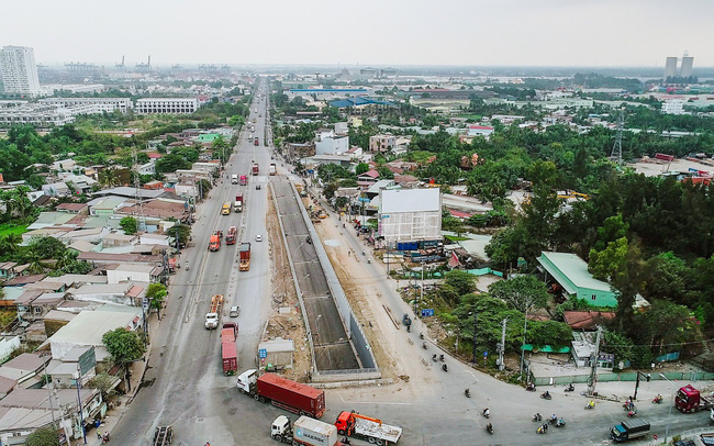 Cận cảnh dự án hầm chui lớn nhất TP.HCM sắp thông xe, thông điểm đen kẹt xe khu cảng Cát Lái