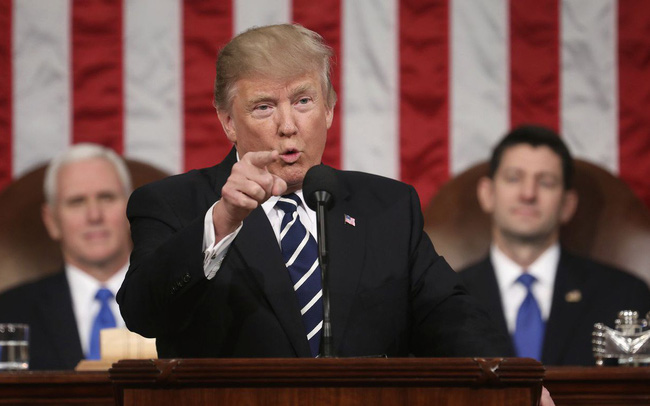 Tổng thống Trump lần đầu đọc Thông điệp Liên bang: Điểm bắt đầu của giấc mơ Mỹ chưa bao giờ thuận lợi đến thế