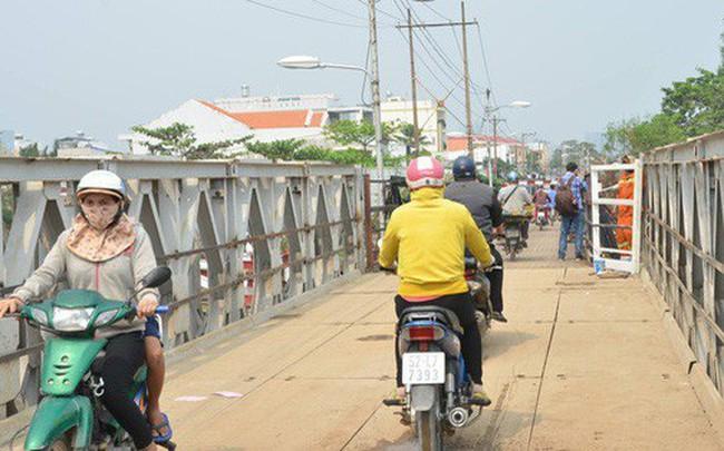 Thông xe cầu Long Kiển sau sự cố sập 1 nhịp