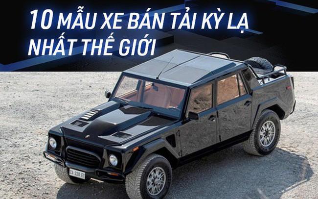 Fan cuồng bán tải cũng chưa chắc biết tới 10 mẫu xe cực hiếm này - ảnh 1