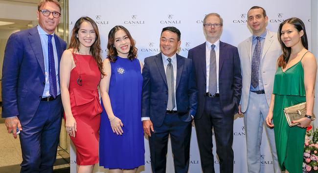 Lễ khai trương Canali tại Hà Nội với sự góp mặt của nhiều quý ông và doanh nhân thành đạt