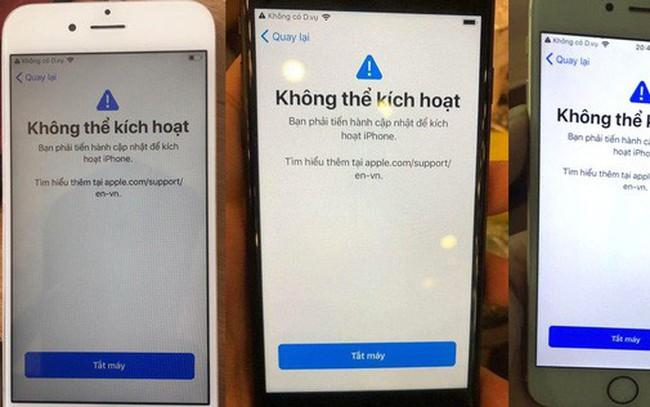 """iPhone biến thành """"cục gạch"""" sau khi nâng cấp iOS 12"""