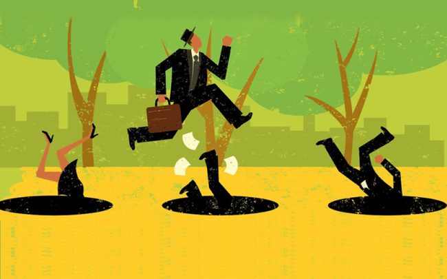 Sự tích cực rất cần thiết với người làm kinh doanh nhưng lạc quan quá mức có thể khiến bạn mất kiểm soát, thất bại vì những sai lầm không đáng