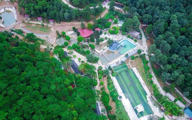 Bên trong khu sinh thái 'khủng' ở Sóc Sơn chính quyền xem là 'nhà tạm'
