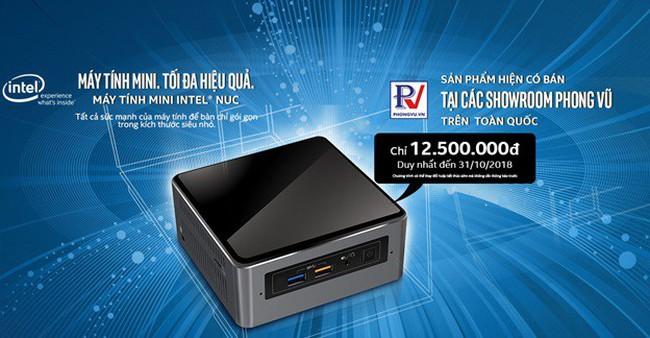 Máy tính mini Intel NUC chính thức lên kệ Phong Vũ trên toàn quốc