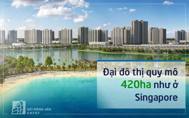lo dien nhung hinh anh dau tien hinh dung ve mot dai do thi nhu o singapore tai vincity ocean park nhu the nao