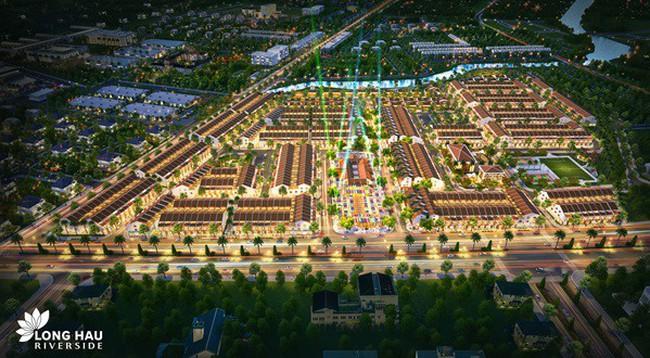 Long Hậu Riverside Market: Yếu tố quyết định tạo nên bất động sản đắt giá