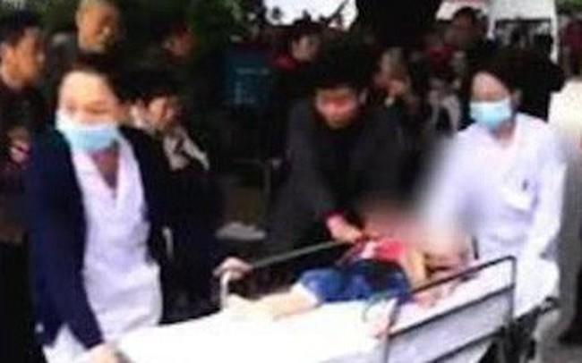 Cuồng sát trường mầm non ở Trung Quốc, một phụ nữ chém 14 trẻ nhỏ bị thương