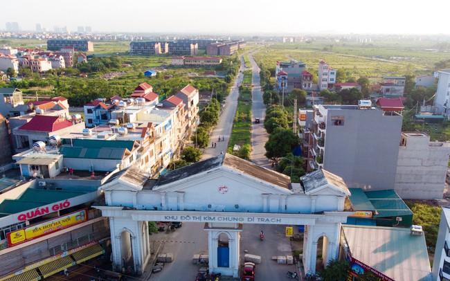 Toàn cảnh khu đô thị Kim Chung - Di Trạch vừa được điều chỉnh quy hoạch để 'giải cứu'