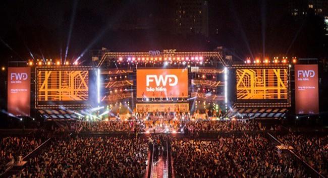 FWD Music Fest xứng đáng là lễ hội âm nhạc hoành tráng của năm