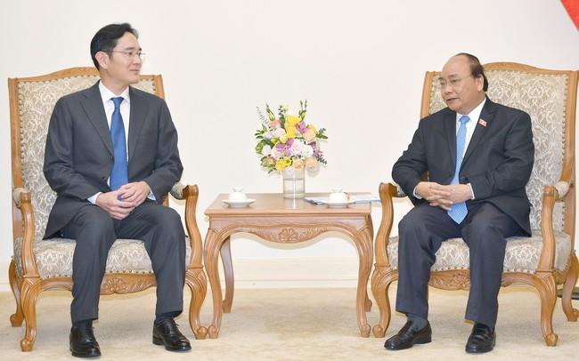 """Thủ tướng đề nghị Samsung biến Việt Nam thành """"cứ điểm chiến lược lớn nhất toàn cầu"""""""