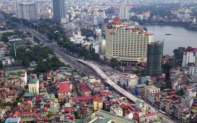 Clip, ảnh: Cận cảnh cầu vượt hơn 300 tỷ ở nút giao An Dương - Nghi Tàm trước ngày thông xe