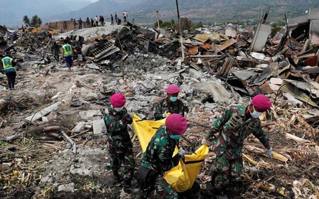 Hơn 5.000 người có thể vẫn mất tích sau động đất, sóng thần ở Indonesia