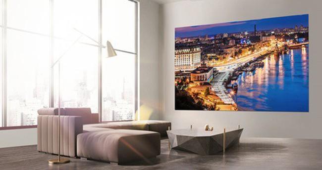 """Khi """"bức tường"""" của bạn biến thành chiếc TV khổng lồ"""