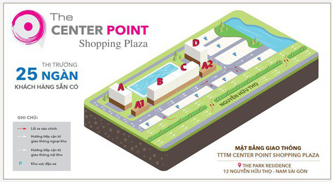 Center Point – Ngôi sao mới tại Thị trường bán lẻ Nam Saigon