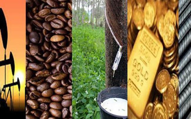 Thị trường ngày 4/12: Giá dầu tăng gần 4%, thép tăng 7%, vàng cao nhất 3 tuần