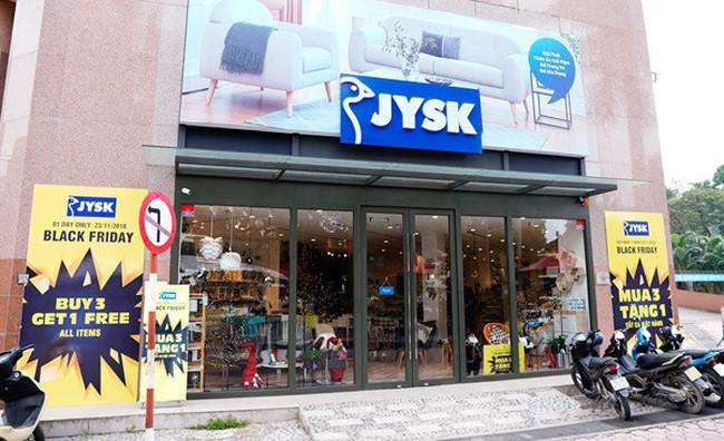 Nội thất Đan Mạch JYSK ưu đãi Mua 3 Tặng 1 dịp Black Friday