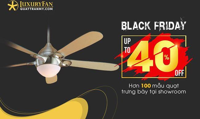 Black Friday: Cơ hội để sở hữu quạt trần Mỹ với giá ưu đãi đến 40% duy nhất trong năm
