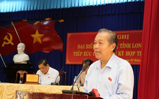 Phó Thủ tướng Trương Hòa Bình: Chống tham nhũng không có vùng cấm